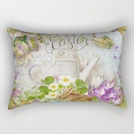 Easter Breakfast Rectangular Pillow