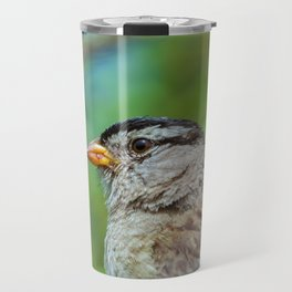 Sparrow the Portrait Travel Mug