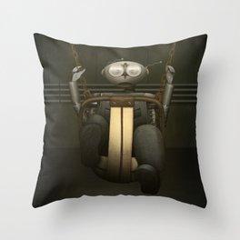 I love Swinging Throw Pillow