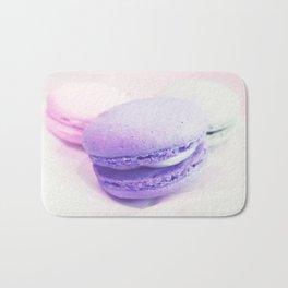 macaroons pink lavender Bath Mat