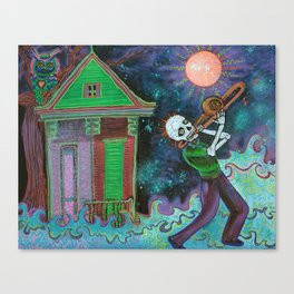 Bayou Blues Canvas Print