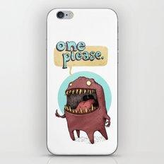One Please (Alternate) iPhone & iPod Skin