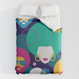 Seventies boom Comforters