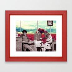 Dreamers / Escapists (2014) Framed Art Print
