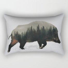 Wild Boar Rectangular Pillow