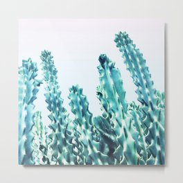 California Cactus #society6 #decor #buyart Metal Print