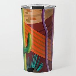 Cactus on Mountaintop Travel Mug
