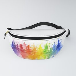 Rainbow Forest Fanny Pack