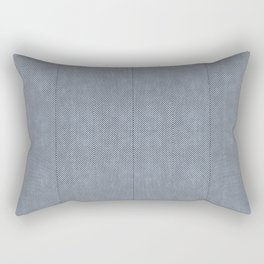 Stitch Weave Geometric Pattern Rectangular Pillow