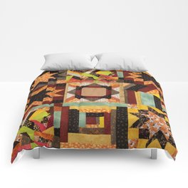 Quilt, Fall Colored Quilt Pattern Comforters
