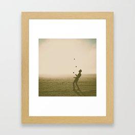 Juggler 4 Framed Art Print