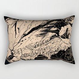 Comfortably Numb Rectangular Pillow