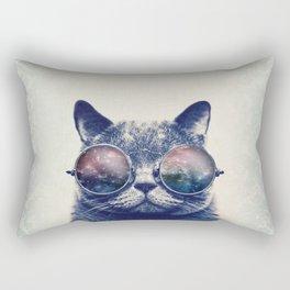 Trip Cat Rectangular Pillow