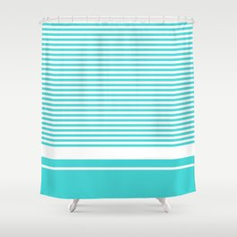 Vintage T-shirt No16 Shower Curtain