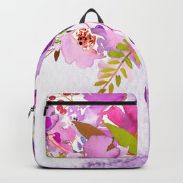 Flowers bouquet #46 Backpack