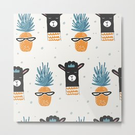 Cute pattern Metal Print