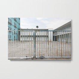 Abandoned Motel | Las Vegas Metal Print