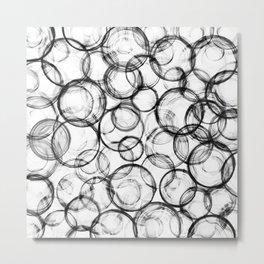 Dirty bubbles Metal Print
