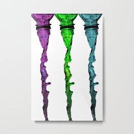 Flowing Metal Print