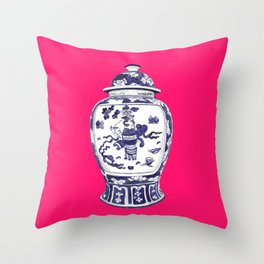 GINGER JAR PILLOW Throw Pillow