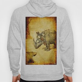 The anvil and the rhinoceros Hoody