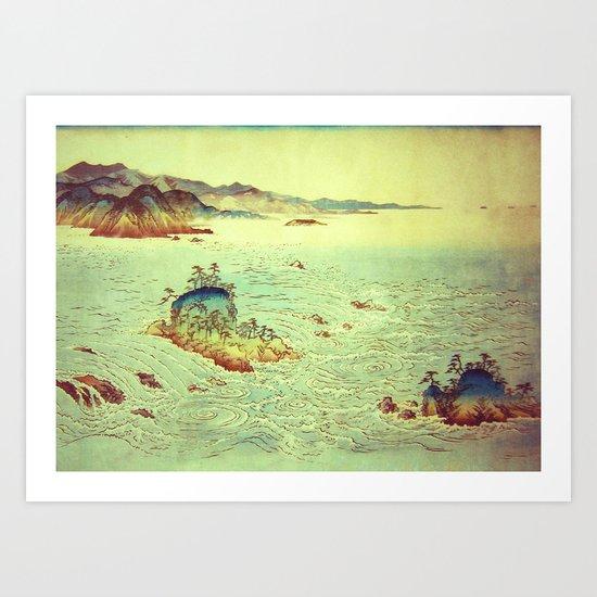 Dreams of Hannati Art Print