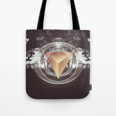 Somewhere in the darkness Tote Bag