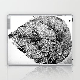 Skeleton Leaf Laptop & iPad Skin