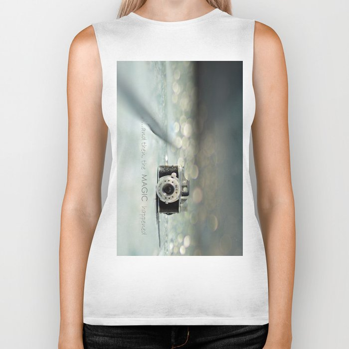 ...and then, the MAGIC happened... Biker Tank