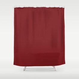 Plum's Promise ~ Burgundy Shower Curtain