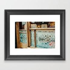 public bar Framed Art Print