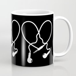 Love Music Headphones Coffee Mug