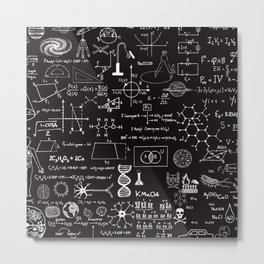 Science Madness Metal Print