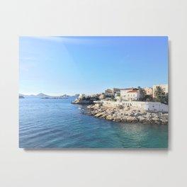 Seaside View Metal Print