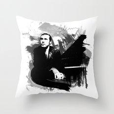 Glenn Gould Throw Pillow