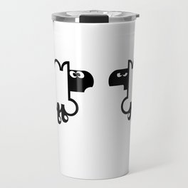 Angry Sheep III Travel Mug