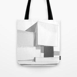 Cubic house No.3 - minimalist architecture Tote Bag