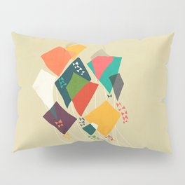 Whimsical kites Pillow Sham