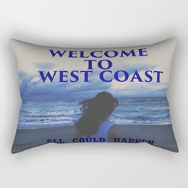 In The West Coast Rectangular Pillow