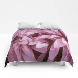 Just The Two Of Us - Painterly Dahlias Comforters