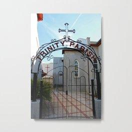 Trinity Parish Episcopal Church Entrance III Metal Print