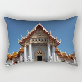 Buddhist temple Bangkok Rectangular Pillow