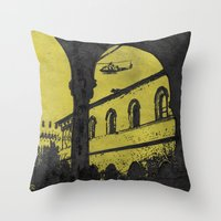 milan Throw Pillows featuring Milan 4 by Anand Brai