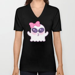 Cute Spooky Unisex V-Neck