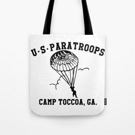 Camp Toccoa PT Shirt Tote Bag