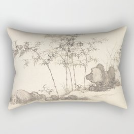 Bamboo grove Rectangular Pillow