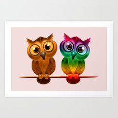 Friendship Art Print
