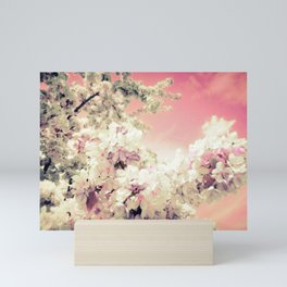 Pink Lavender Flowers Mini Art Print