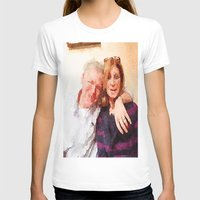 karen hallion T-shirts featuring Mike and Karen by Jose Luis