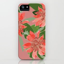2941-Diploena-Pink-Dark iPhone Case
